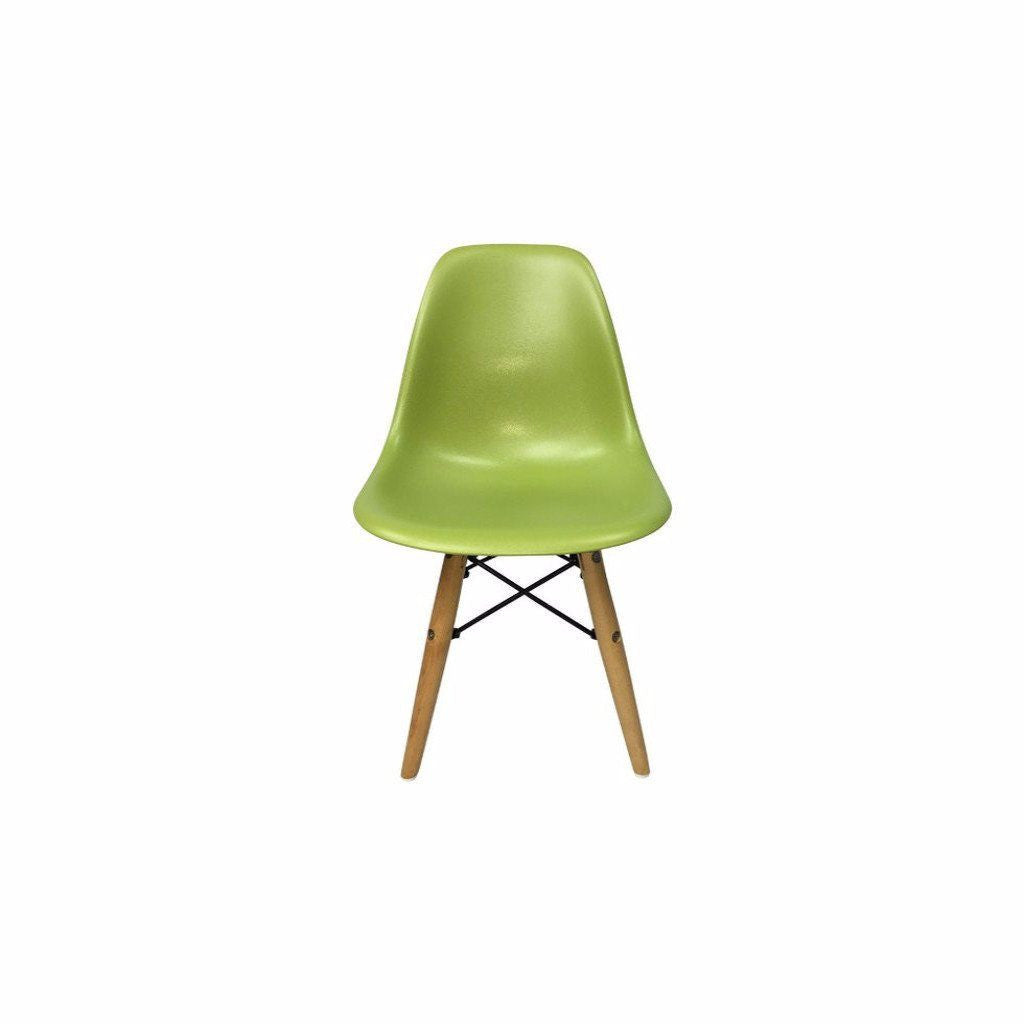 Green Eames DSW Chair for Kids