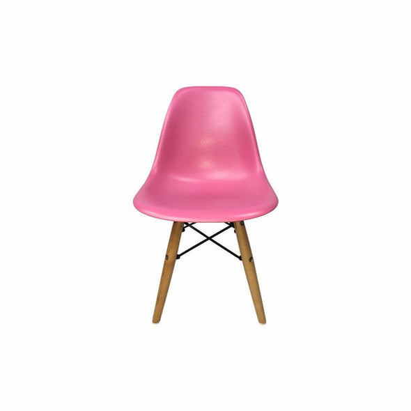 Pink Eames DSW Chair for Kids