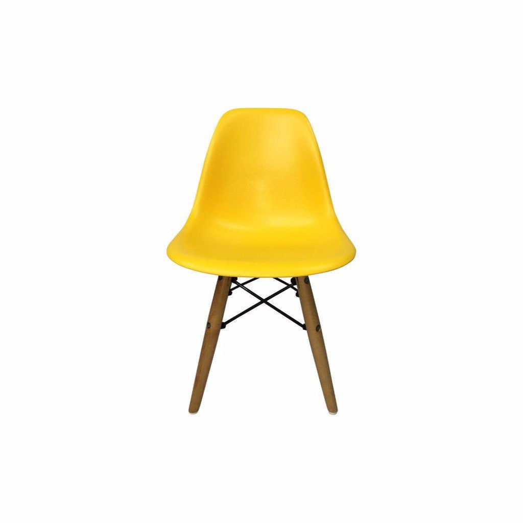 Yellow Eames DSW Chair for Kids