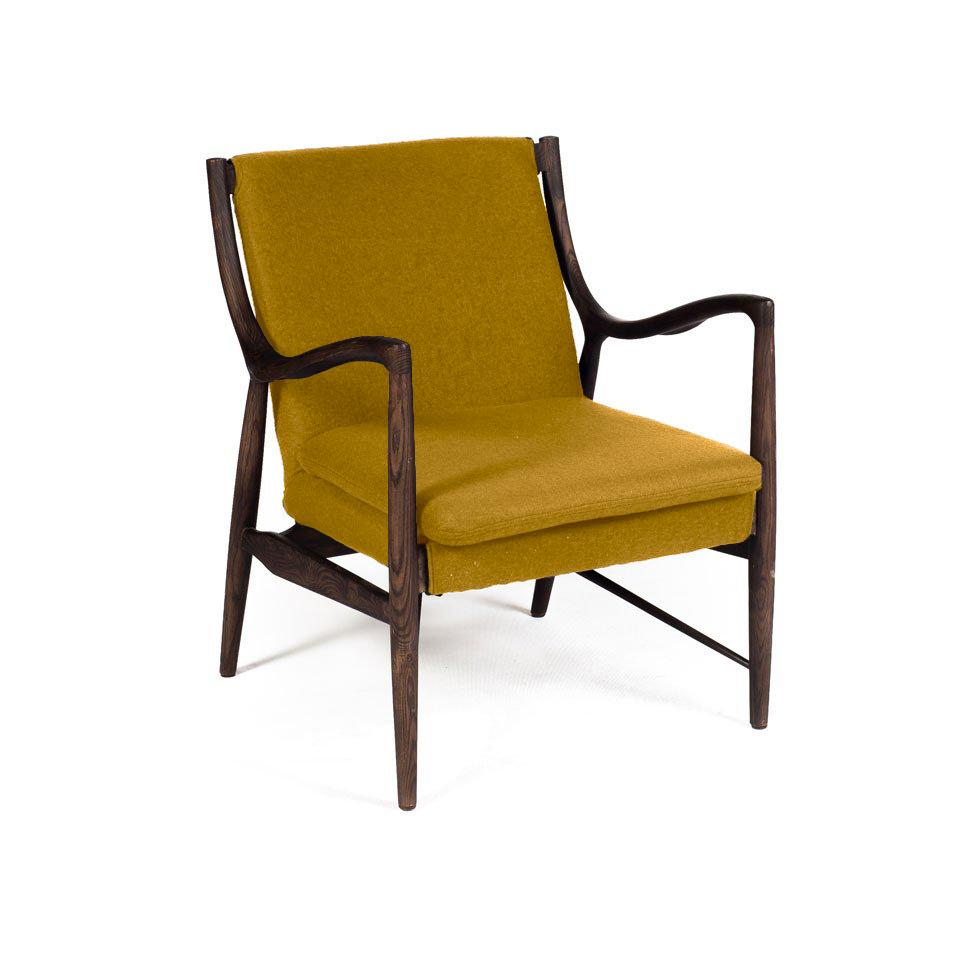 Wanscher OW149 Chair Yellow