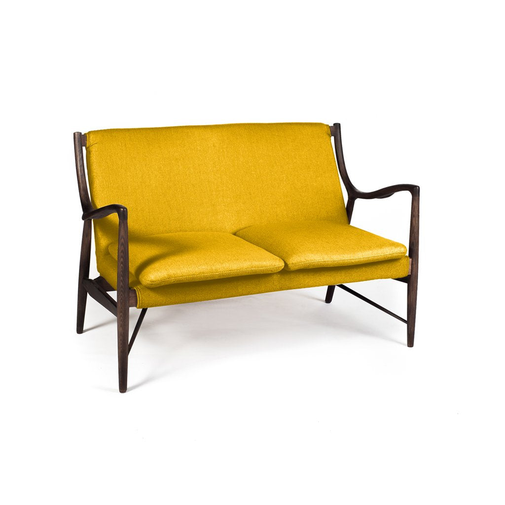 Wansher OW149 Loveseat Yellow