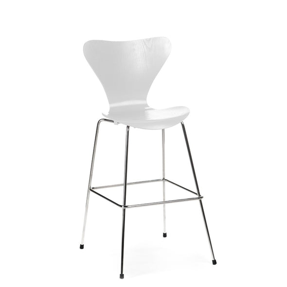 Jacobsen Series 7 Stool in light grey