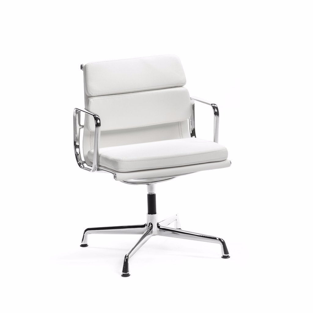 Eames Soft Pad Chair Low-Back White
