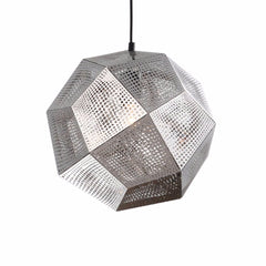 Tom Dixon Etch Shade Pendant Lamp Silver
