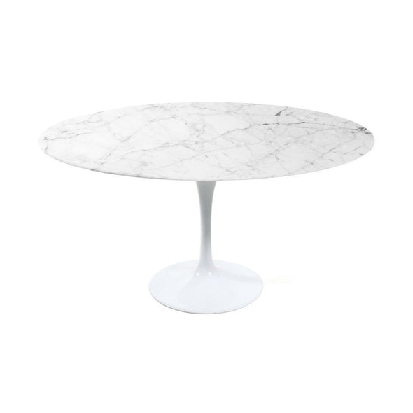 Saarinen Tulip Dining Table Carrara
