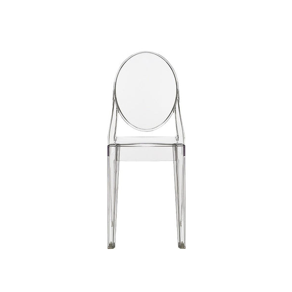Victoria Ghost Chair - Clear