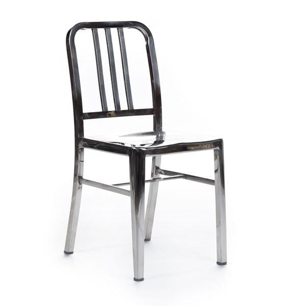 Navy Chair chromed steel
