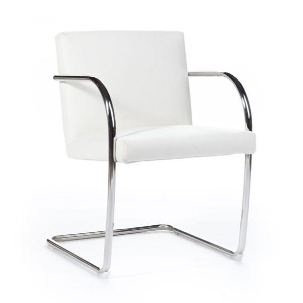 Brno Tubular Chair white