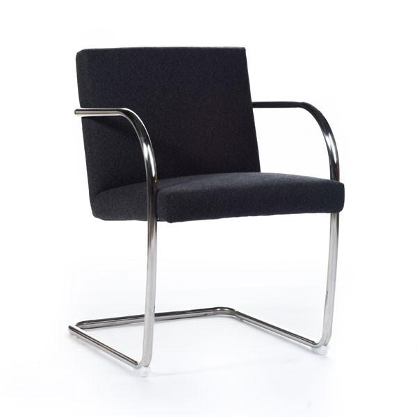 Brno Tubular Chair charcoal