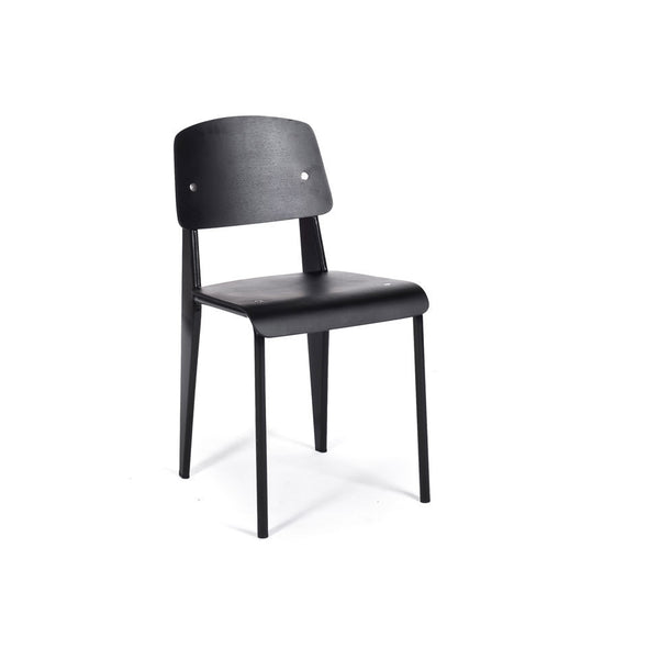 Prouvé Standard Chair in black