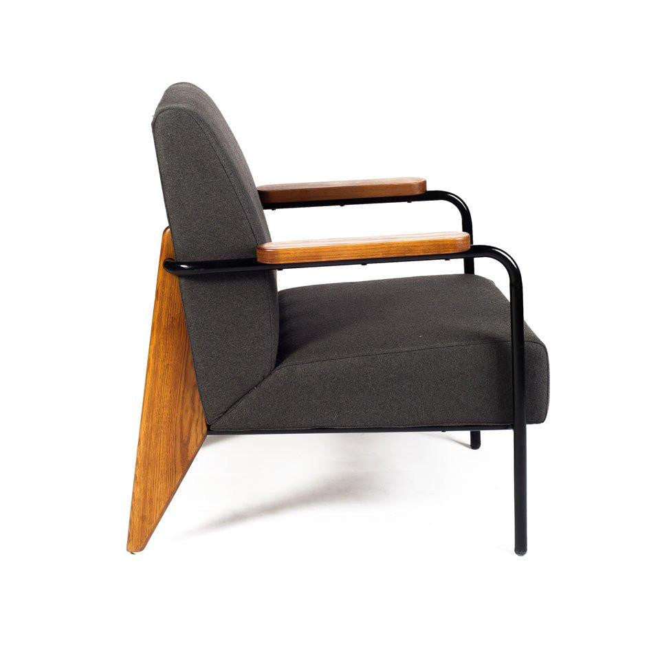 Prouvé Lounge Chair charcoal