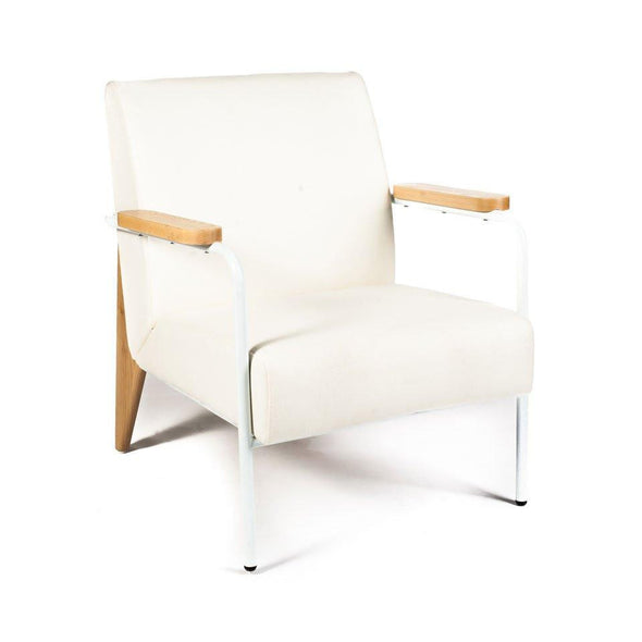 Prouvé Lounge Chair white
