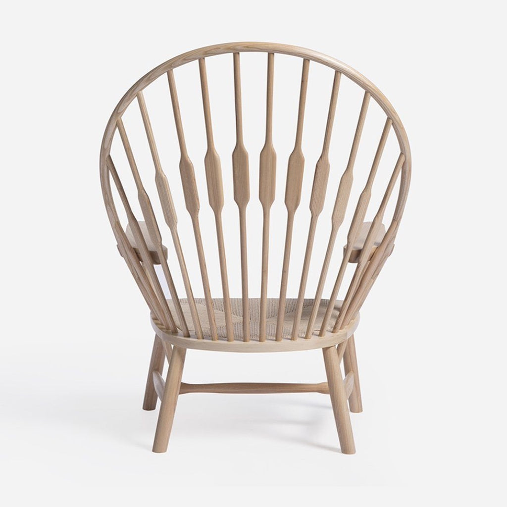 wegner peacock fan chair back