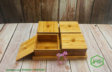 Load image into Gallery viewer, Bamboo Food Serving Tray - bamboo straws