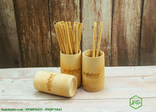 Load image into Gallery viewer, Bamboo Cup - bamboo straws