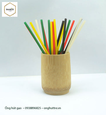 Rice Straw - Set 1000 Straws - bamboo straws