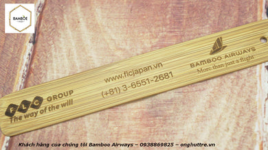 Bamboo Bookmark - bamboo straws