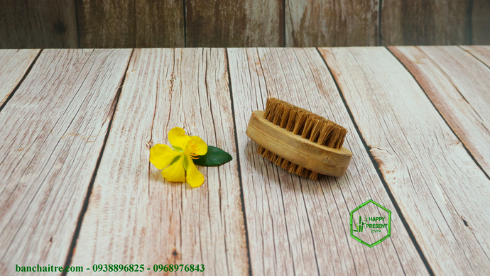 Coconut Nail Brush - bamboo straws