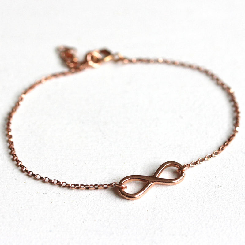 Rosé gold filled Infinity Armband