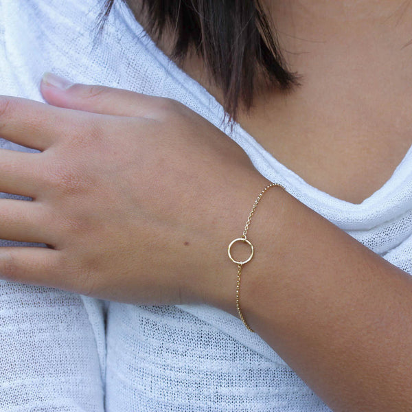 Goldfill Armband mit Ring