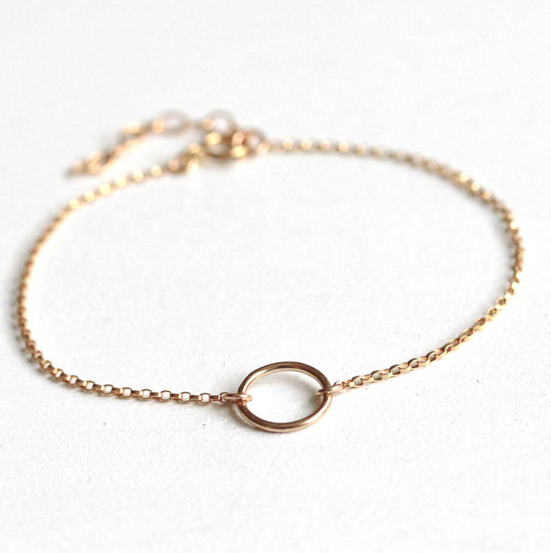 zierliches Ring-Armband goldfilled | MAYAMBERLIN