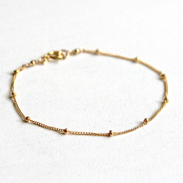 Satellitenarmband gold filled | MAYAMBERLIN