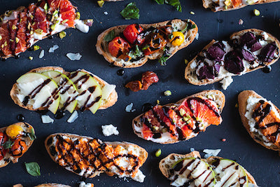 Holiday Appetizer Inspiration - Bruschetta Bar