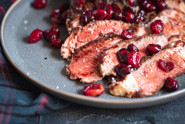 Roasted Balsamic Cranberries Recipe