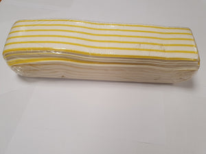 Pk50 Semi Disposable Microfibre Mop Pad (50cmx11cm)