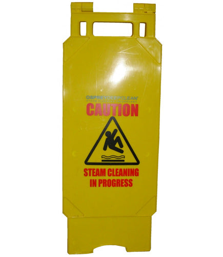 Cleaning in Progress Safety Sign | Accessories | Osprey Deepclean