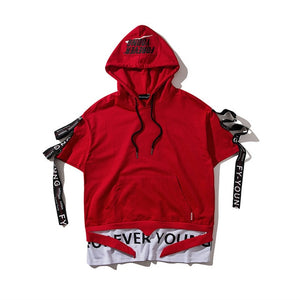 """FOREVER YOUNG"" HOODED T-SHIRT"