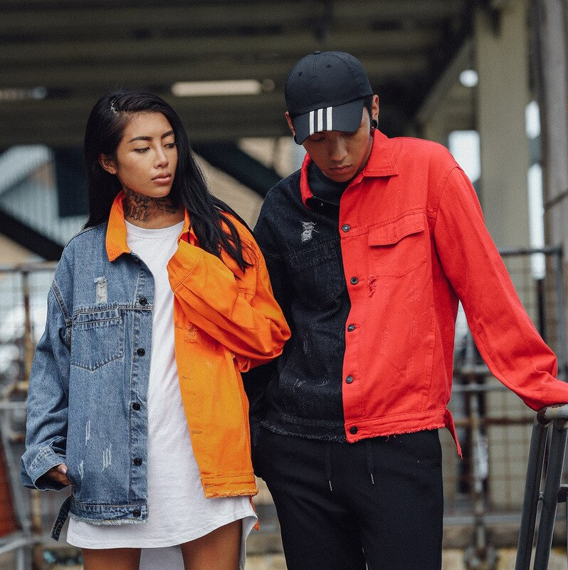 """RED/BLACK"" JACKET"