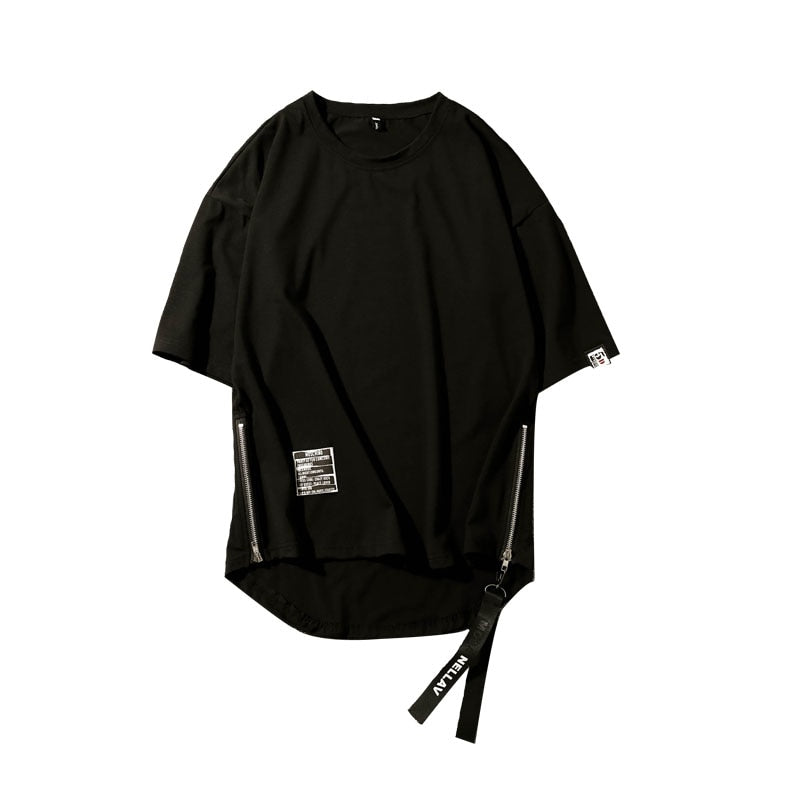 """SIDE ZIPPER"" T-SHIRT"