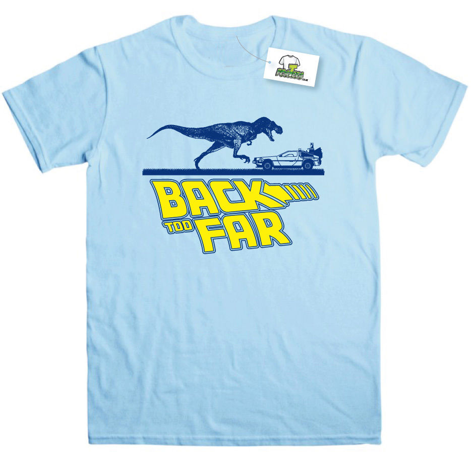 """BACK TO FAR"" T-SHIRT"