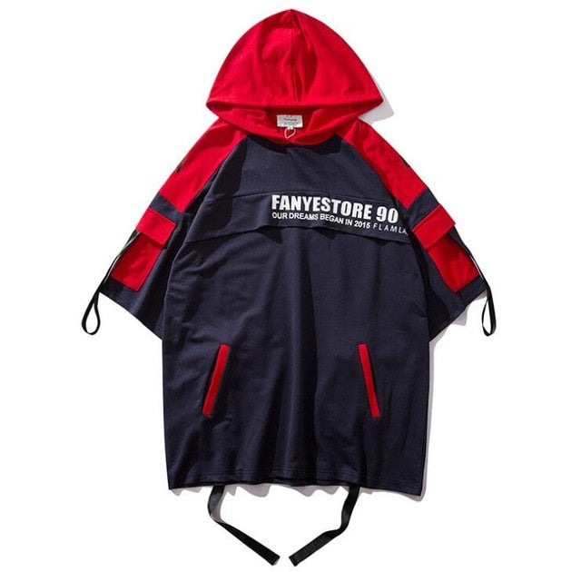 """FANYESTORE"" HOODIED T-SHIRT"