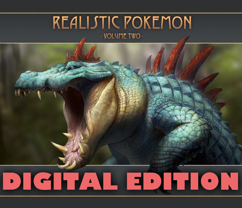 :Digital: Realistic Pokemon-Volume Two Art Book