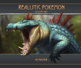 Realistic Pokemon-Volume Two Art Book