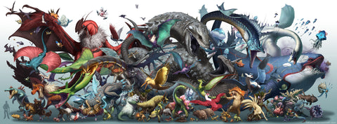 Pokemon Season Two Giant Poster