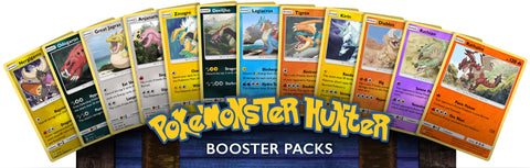 PokeMonster Hunter Card Pack