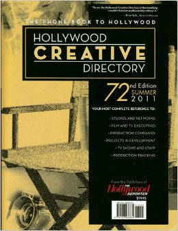 2011 Hollywood Creative Directory Summer 72nd Edition