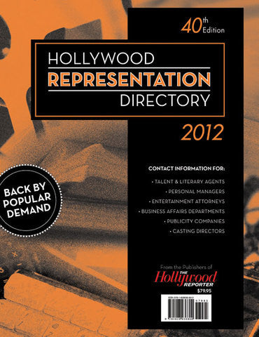 2012 Hollywood Representation Directory 40th Edition