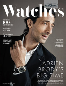 November 23, 2015 - Issue 40A - Watches