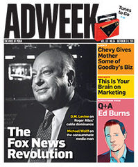 Adweek Back Issue N. 34 - 2011