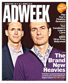 Adweek Back Issue N. 40 - 2011
