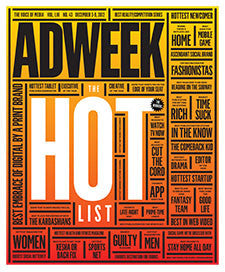 Adweek Back Issue N. 43 - 2012