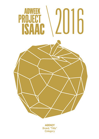 2016 Adweek Project Isaac Trophy