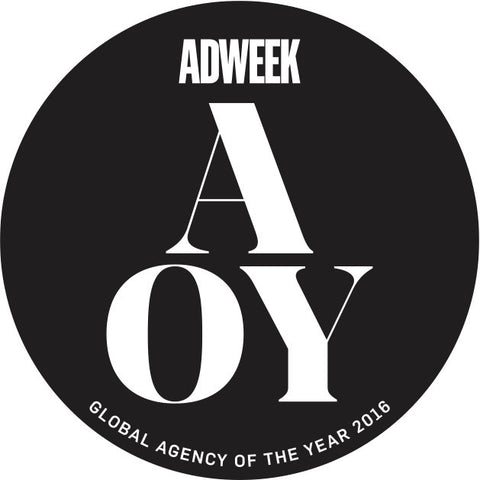 2016 Adweek Agency of the Year Winner Seal