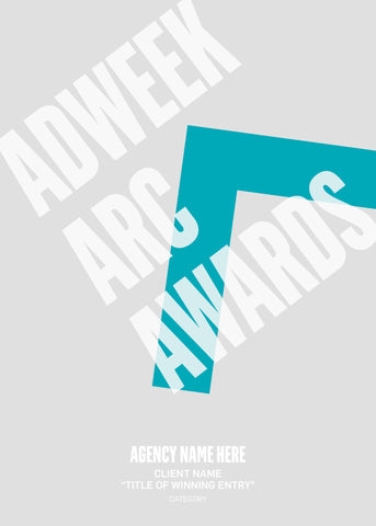 2016 Adweek Arc Awards Trophy