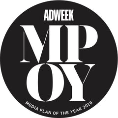 2016 Adweek Media Plan of the Year Winner Seal