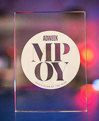 2016 Adweek Media Plan of the Year Trophy